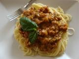 Mleté kuřecí na špagety recept