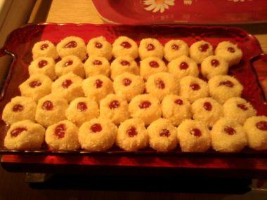 kokosové knoflíčky