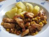 Kuřecí kousky s kukuřicí recept