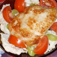 Plněná kuřecí prsa Connemara recept