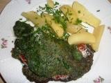 Špenátová kapsa recept