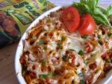 Zapečené špagety se sójou recept