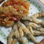 Žabí stehýnka recept