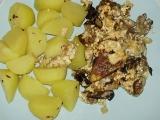 Vepřové s houbami a smetanou recept