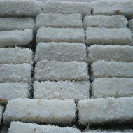 Dvoubarevné kokosové suky recept