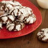 Čokoládové crinkles recept