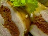 Kuřecí prsa plněná klobásovou fáší recept