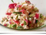Ředkvičkový salát se šmakounem recept