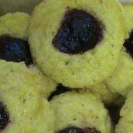 Máslové koláčky s džemem recept
