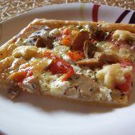Domácí pizza se žampiony recept