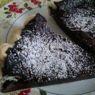 Minutkový koláč s pudinkem a smetanou recept
