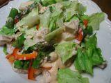 Kuřecí salát s chřestem recept