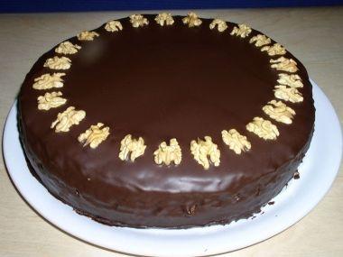 Čokoládový dort  bez vážení