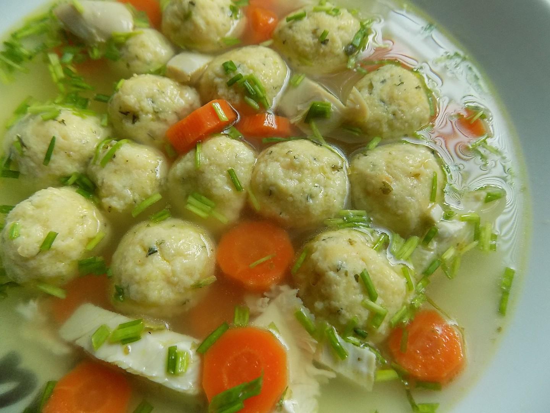 Ricottové knedlíčky do polévky recept