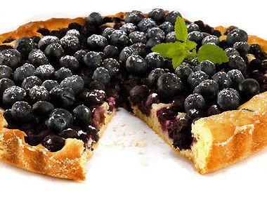 Rychlý borůvkový koláč hrnkový