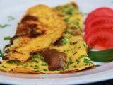 Bylinková omeleta s hlívou recept