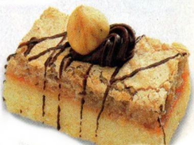 Tyčinky s ořechovou krustou