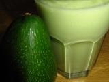 Avokádový milkshake recept