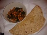 Indická kuchyně  Chole Palak (cizrna se špenátem) videorecept ...