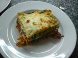 Lasagne s dvojí náplní recept