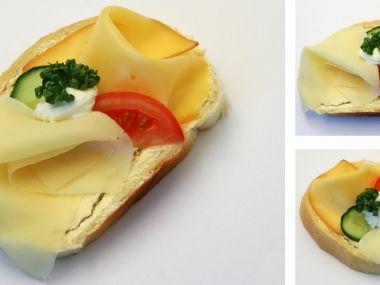 Sýrové chlebíčky jednoduché