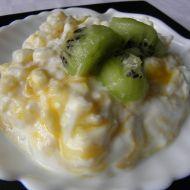 Mléčná kokosová rýže recept