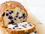 Borůvkový chlebíček s ovesnými vločkami recept