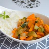 Zeleninová směs s mrkví a cuketou recept