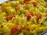 Šafránové brambory s řapíkatým celerem recept