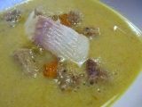Polévka z uzených ryb podle Radka Kašpárka recept