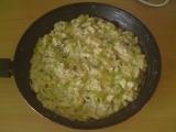 Cuketovo-žampiónová směs recept