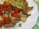 Kuřecí plátky s rajčaty a ančovičkovým máslem v alobalu recept ...