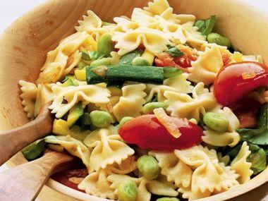Recept Vegetariánské těstoviny s cuketami