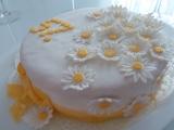 Květinový dort recept