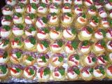 Plněné slané košíčky recept