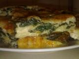 Špenátový nákyp se sýrem recept