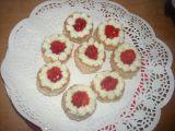 Moje mini dortíky  jahodové recept