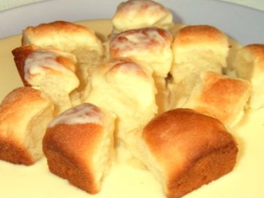 Dukátové buchtičky z domácí pekárny