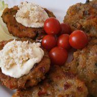Chlebovo-zeleninové bramboráčky recept