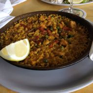 Paella s mořskými plody recept