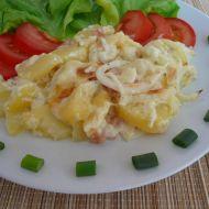 Smetanové brambory s nivou recept