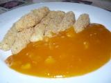 Bramborové šištičky s meruňkovou omáčkou recept