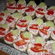 Celerové chlebíčky recept