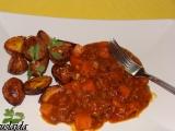 Hovězí na česneku s dýní recept