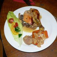 Kuře pečené na redukci ze cideru recept