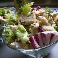Míchaný salát s tofu recept