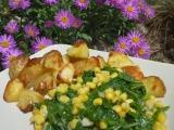 Mangold s kukuřicí recept