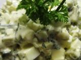 Hermelínovo-vaječný salát recept