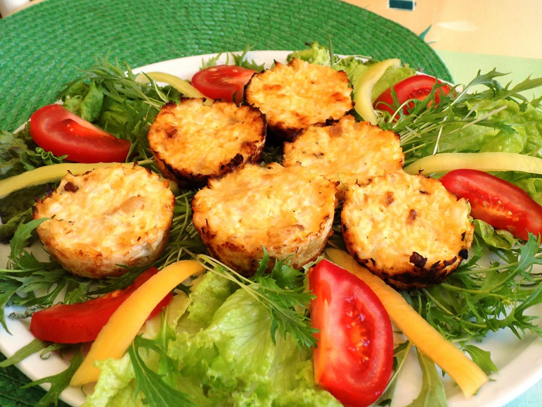 Květákové muffiny recept