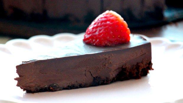Ten nejjednodušší čokoládový koláč na světě